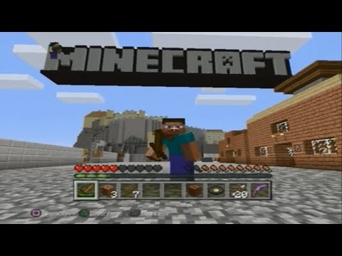 MINECRAFT para PS3 y PS4 COMO DESCARGAR MINECRAFT PS3 PS4