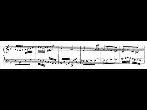 Бах Иоганн Себастьян - Bwv 803 - Duetto Ii In F Major