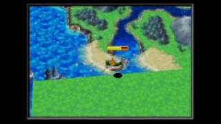 Golden Sun: The Lost Age--World Map Collision Detection Glitch