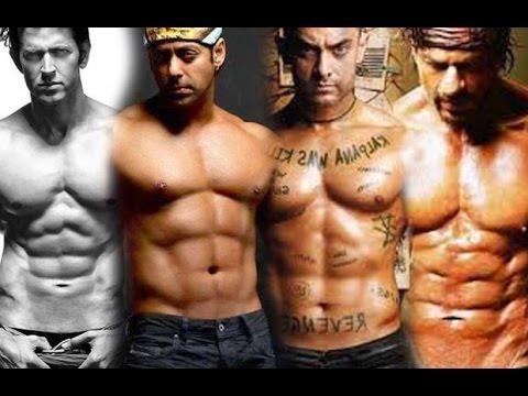 Salman Khan Mocks Hrithik, Shah Rukh, Aamir On Abs Controversy