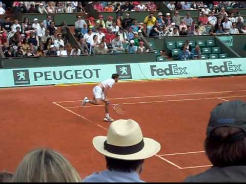 Gilles Simon - Gilles Muller Video