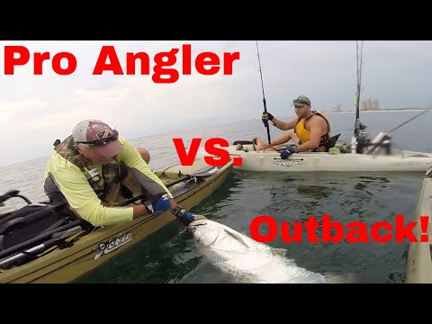The TRUTH about the HOBIE OUTBACK VS. PRO ANGLER !