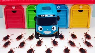 Tayo Thomas Disney Cars Cockroach Monster Story for Children - hahakidstoy