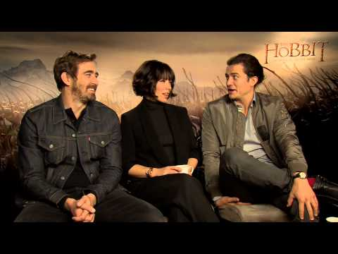 Lee Pace, Evangeline Lilly & Orlando Bloom chat to TORn staffer greendragon