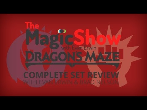 Dragon's Maze Complete Set Review - Red. Izzet and Boros