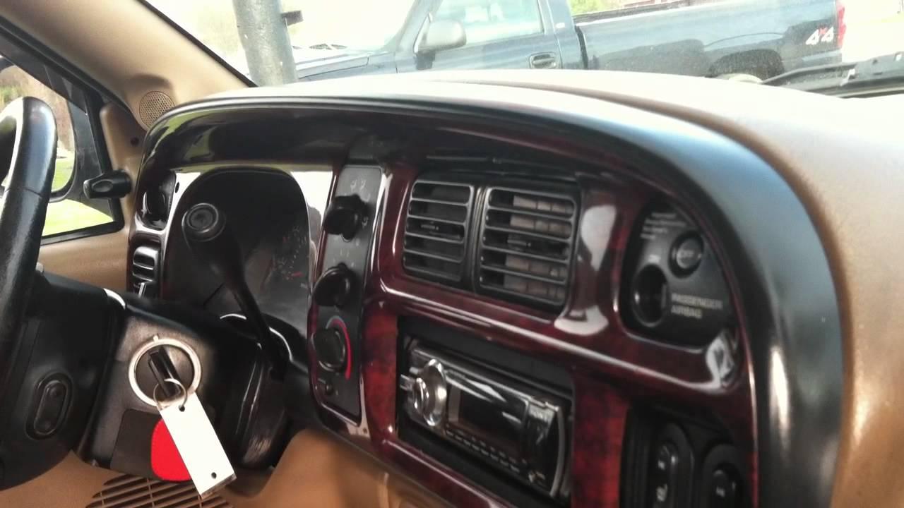 2001 Dodge Ram 2500 4x4 Quad Shortbed Cummins 24v Diesel Leather Auto Clean Usedcumminstrucks