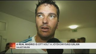 Salgótarjáni focigálán játszott a Real Madrid