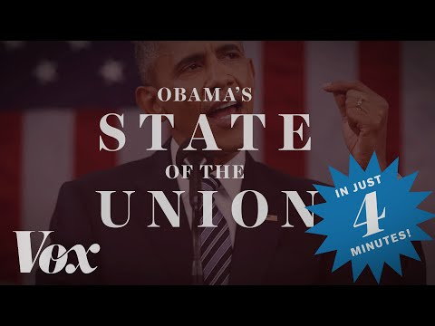Obama's 2016 State of the Union, in four minutes