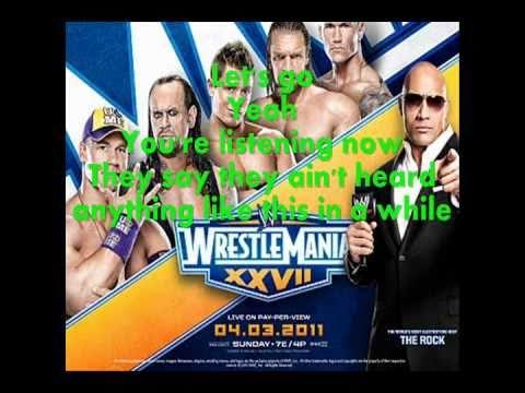 WWE Wrestlemania 27 Theme-Written In The Stars wlyrics + download...