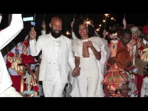 Solange Knowles and Alan Ferguson Have The Coolest Wedding Ever!