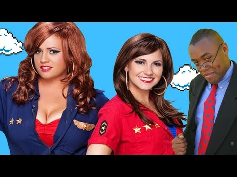 ATWG #15: THE WING GIRLS Ticklish Threesome - Black Nerd Awkward Talks with Girls