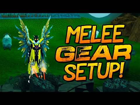 Runescape - My Melee Gear. Weapon + Override Setup!
