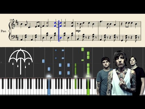 Bring Me The Horizon - Drown - Piano Tutorial + Sheets