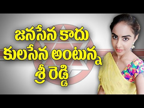 Sri Reddy Sensational Comments on Pawan Kalyan Janasena Party | Y5 tv |