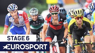 Tour de Pologne 2018 | Stage 6 Finish Highlights | Cycling | Eurosport
