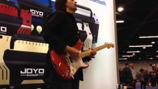 New Joyo mini tube amps demo from NAMM SHOW 2016