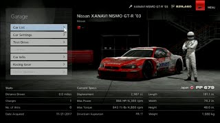 Gran Turismo 6 Like the Wind! Max Speed Test in an XANAVI Nismo GT-R '03!