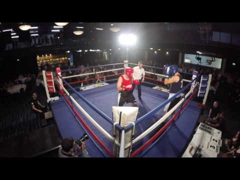Ultra White Collar Boxing Bolton  Ste Hinnegan VS Paul Wilson