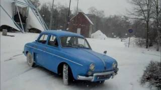 Renault dauphine '57 test drive