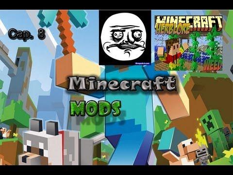 Minecraft   Mods   Cap.8 Herblore ( Marihuana ) 1.6.2