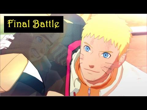Boruto Ending and Final Battle - Naruto vs Boruto - Ultimate Ninja Storm Game - Part 28