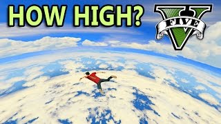 GTA V - How high can you go?