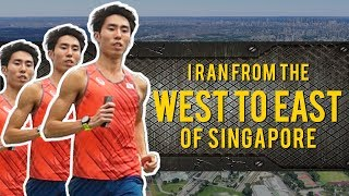 RunSohFast: Running from the West to East of Singapore in 2 Hours