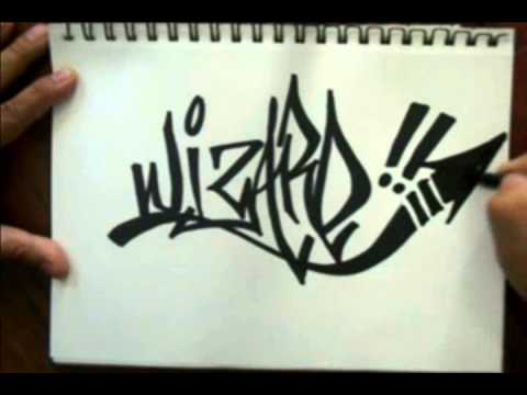 How to tag  a graffiti name (WIZARD)