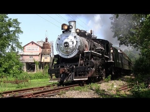 Black River & Western #60 - Spring Steam Excursions