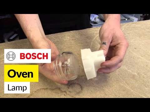 Bosch Threaded Glass Oven Lamp Lens