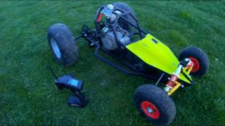 PIRANHA buggy RC petrol BIG SCALE 1/5 50ccm