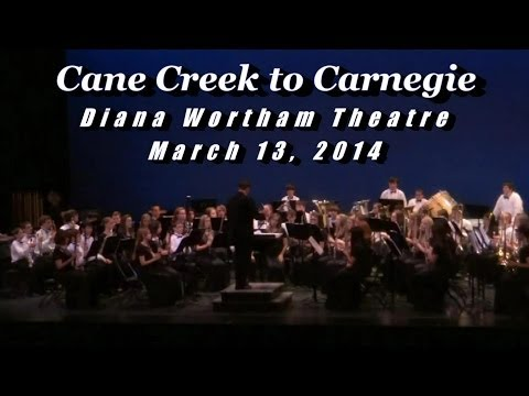 Cane Creek Middle School Honors Symphonic Band Performs Lament and Tribal Dance