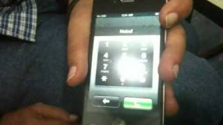 Unboxing Iphone 4 & Reliance 3G test INDIA