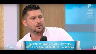 Florin Morariu, eroul nostru din Londra, despre viața lui din copilărie