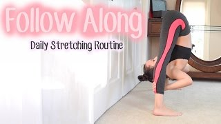 Intermediate Stretching Routine | FOLLOW ALONG