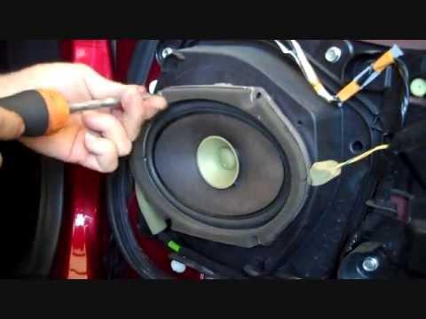 Mazda Mx 5 Miata Front Speaker And Tweeter Removal 2006