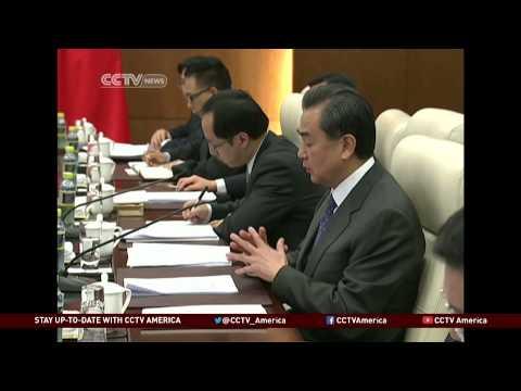 John Kerry Visit to China