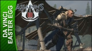 Assassin's Creed 3 - Leonardo Da Vinci Easter Egg