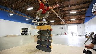 THE BRAILLE HOUSE HIGH OLLIE CHALLENGE!