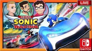 Team Sonic Racing 3 Player Split Screen CO-OP | Nintendo Switch | Defending The Game