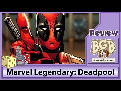 Marvel Legendary: Deadpool review