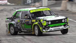 Paolo Diana' Fiat 131 Racing Proto Screaming Engine & Show at RallyLegend!