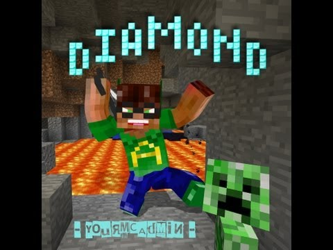 Diamond (Minecraft parody of Baby - Justin Bieber) Music Videos