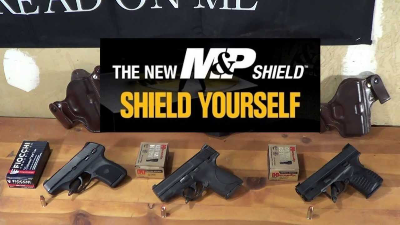Shield vs  XDs a...M And P Shield Vs Xds