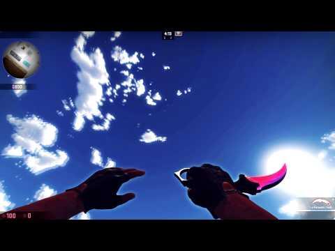 Knife Showcase - M9 Bayonet Ultraviolet and Karambit Fade