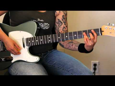 How To Play keep Away By God Smack (rhythm Guitar Only) - Jen Trani video