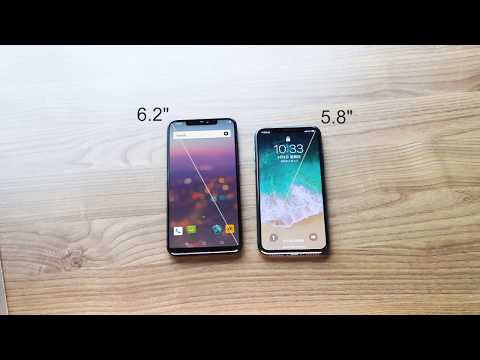 UMIDIGI Z2 VS iPhone X