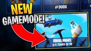 """Final Fight Gameplay"" *NEW* Fortnite Update 4.4! (Fortnite Final Fight Gameplay!)"