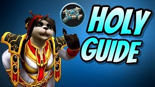 Holy Priest PvE Guide 8.0.1 | Talents & Rotation & Stats | World of Warcraft Battle for Azeroth