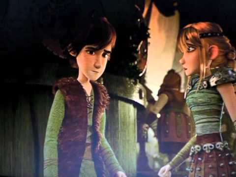 Hiccup and Astrid's Second Kiss (SPOILER)